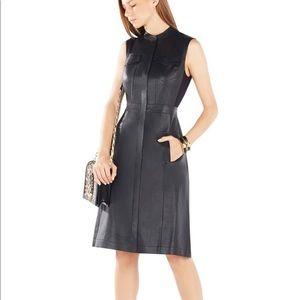 BCBG Max Azria Alexandria Faux Leather Dress